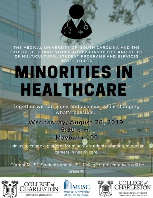Minorities in Healthcare Flyer